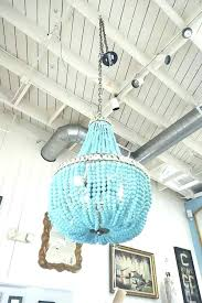 turquoise beaded chandelier how to make a bead chandelier stgrupp