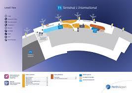perth airport passengers link