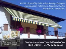 Awning Contractors Miri Piri Delhi Based Leading Manufacturers Suppliers Of Awnings