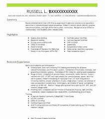 pipefitter resume sample sample resume for tradesmen pipefitter