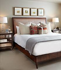 Master Bedroom Bed Decor Decorating Ideas Also Over