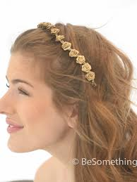 boho hair accessories golden metal maple leaf wedding hair accessories with chagne
