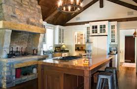 Kitchen Interiors Design 15 Rustic Kitchen Cabinets Designs Ideas With Photo Gallery