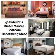 Decorating A Small Master Bedroom 40 Fabulous Small Master Bedroom Decorating Ideas Wartaku Net