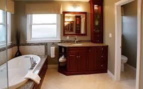 Bathroom Vanity Hutch Cabinets by Bathrooms Schnarr Craftsmen