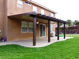Awning Kits Exclusive Alumawood Patio Covers Awnings Canopies With Wood