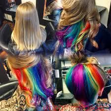 dye bottom hair tips still in style best 25 blonde underneath hair ideas on pinterest highlights