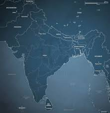 India Political Map Vector Map Of India Political Sci Fi One Stop Map