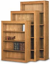 real oak bookcases