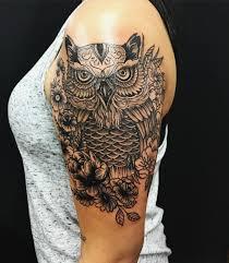 95 best photos of owl tattoos u2014 signs of wisdom 2018