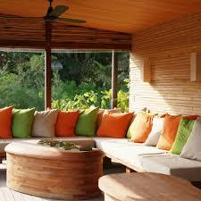 beautiful small homes interiors interior design beautiful small natural sunroom with bamboo wall