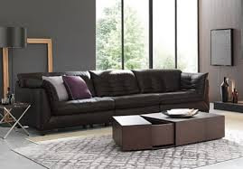 Natuzzi Brown Leather Sofa Re Vive By Natuzzi
