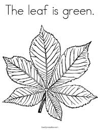 coloring page green coloring page the leaf is png ctok