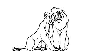 lion king kovu coloring pages bebo pandco