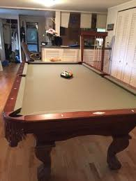 brunswick mission pool table brunswick billiards hawthorne pool table sold sold used pool
