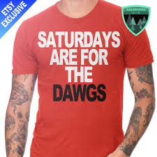 official saturdays are for the dawgs shirt georgia bulldogs