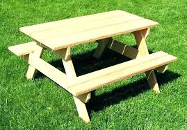 kids outdoor picnic table kids outdoor table nomobveto org