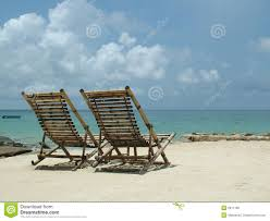 Small Beach Chair Wooden Beach Chairs Royalty Free Stock Photo Image 2911185