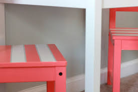 Stonington Gray Benjamin Moore Strawberry Swing And Other Things Crafty Lady Children U0027s Table