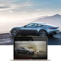 purple aston martin aston martin interactive experience on behance