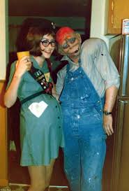 Good Bad Ugly Halloween Costumes Halloween Celebrated 1970s America Daily Mail