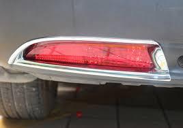 2016 honda crv fog lights for honda crv cr v 2012 2016 abs chrome rear fog light l bumper