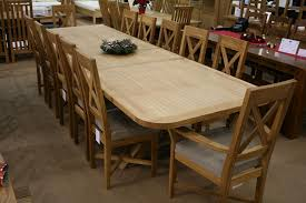 12 Seater Oak Dining Table Dining Tables That Seat 10 Table Picture And Infos Table Dining