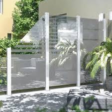 balkon sichtschutz aus glas glaselemente wind und sichtschutz bauhaus ansehen