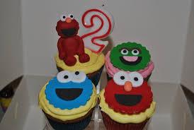 sesame cake toppers sesame cupcakes elmo topper cookie oscar zoe