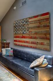 wall design ideas flag proud wooden american flag wall