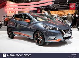 nissan micra new 2017 brussels jan 19 2017 new 2017 nissan micra presented at the