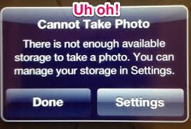 iphone cannot take photo how to manage storage on your ipad teachingwithipad org