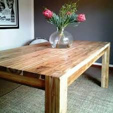 Wood Dining Table Design The 25 Best Chunky Dining Table Ideas On Pinterest Dining Room