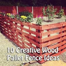 best 25 wood pallet fence ideas on pinterest pallet board fence