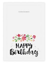 printable birthday ecards printable birthday card spring blossoms printable birthday cards