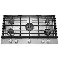 Westinghouse 5 Burner Gas Cooktop Gas Cooktops Cooktops The Home Depot