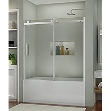 Sliding Bathtub Shower Doors Shower B038 New Frameless Sliding Bathtub Shower Door 5 16