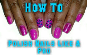 how to polish your nails neat like a pro nail art youtube