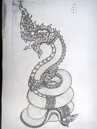 naga tattoo thailand naga laos tattoo design by wafflemistress deviantart com on