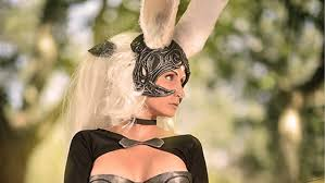 this fran cosplay from final fantasy xii is absolutely amazing