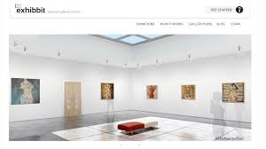 create your own art exhibition in a virtual 3d gallery creatives exhibbitscreengrab