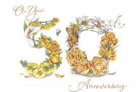 fiftieth anniversary zoviti happy golden jubilee 50th anniversary gift ideas