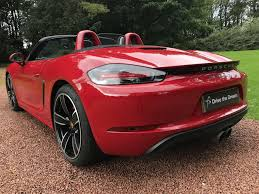 red porsche boxster 2017 used 2017 porsche boxster 718 16 current boxster s pdk for sale