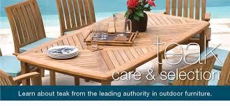 Care Of Teak Patio Furniture Selection U0026 Care Of Teak Outdoor Furniture By Thos Baker