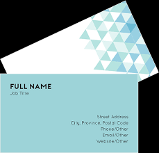 Free Business Cards Printing Home