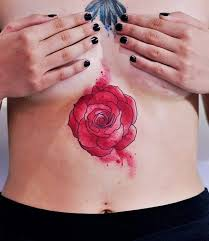 red rose on u0027s stomach best tattoo design ideas