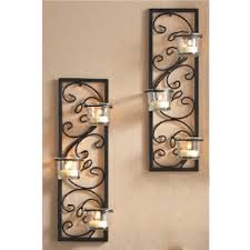 Candle Wall Sconces For Living Room Wall Sconces Candle Wall Sconce Candle Holder Modern Metal Grey