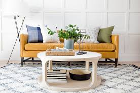 how to decorate a round coffee table for christmas how to style a round coffee table studio mcgee