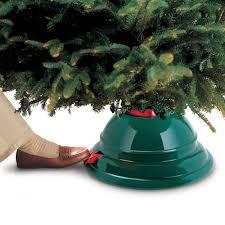 christmas tree stands the best tree stand hammacher schlemmer