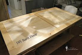 Sliding Barn Door Construction Plans Bedroom Closet Barn Door Diy